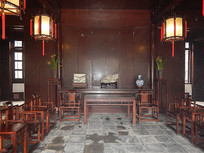 古宅院会客厅