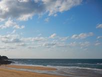 海边大片的云彩
