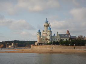 海边的古城堡