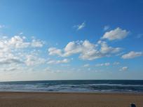 威海国际海水浴场云景
