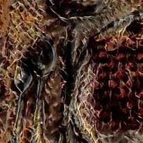 北欧文化装饰火焰油画