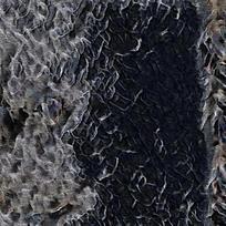 抽象朦胧烟雾装饰火焰油画