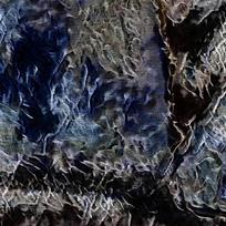 抽象幽暗纹理装饰火焰油画