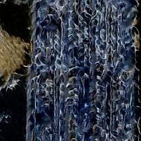 客厅蓝色简约装饰油画