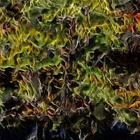 北欧色彩抽象油画