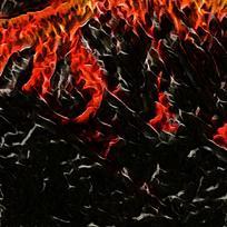炫彩大气火焰装饰背景墙