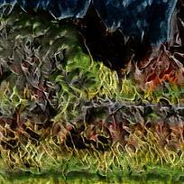 奢华抽象艺术装饰油画