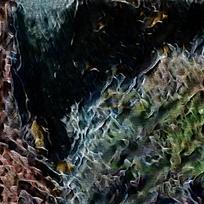 现代复古艺术装饰油画