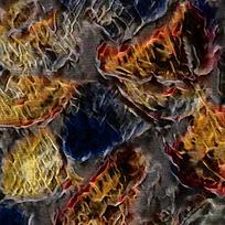 艺术装饰火焰油画背景