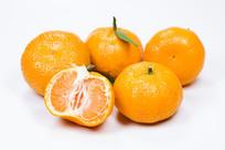 黄色的中国名果沙糖桔