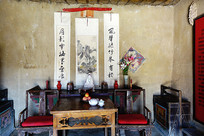 西部村寨人家客厅