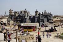 银川古老的山寨和擂台