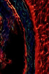 抽象图形火焰背景图片