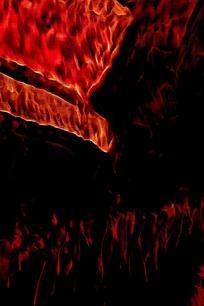 抽象烟火背景素材