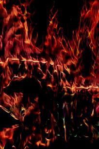 大火燃烧创意背景素材