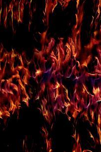 火焰四起创意背景图片