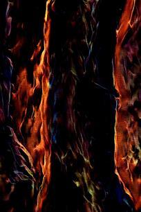 时尚燃烧火焰壁画背景
