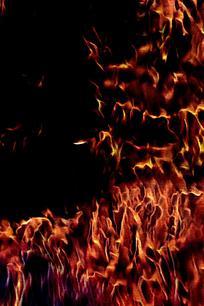 旋律动感火焰背景图片