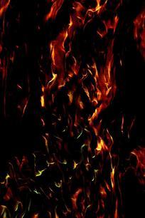 艺术动感火焰背景图片