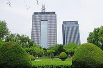 银川市区商务建筑