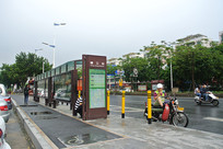 佛山大沥横江公交站
