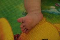 婴儿的小脚