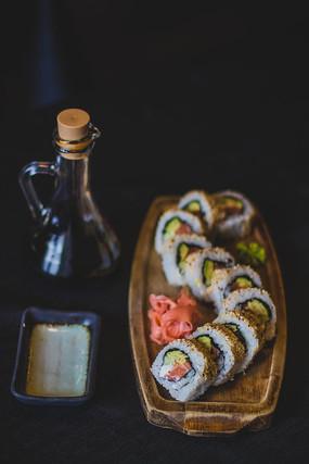 一盘美味的寿司