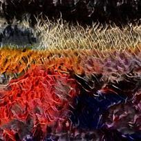 火焰艺术装饰油画