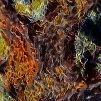 北欧创意复古装饰油画