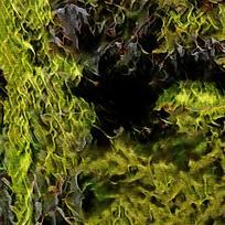 炫彩斑斓火焰图案