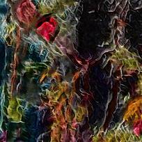 抽象火焰底纹背景素材