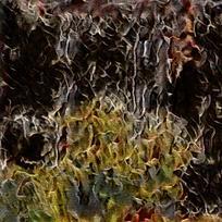 抽象艺术装饰火焰油画