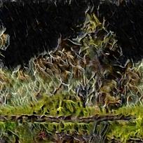 典雅艺术火焰装饰油画