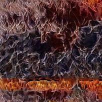复古装饰火焰油画