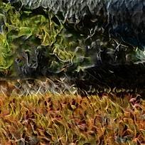 唯美斑斓火焰底纹背景