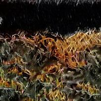 艺术抽象火焰底纹素材