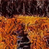 艺术火焰别墅装饰油画