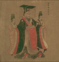 历代帝王图-晋武帝司马炎