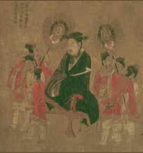 历代帝王图-南陈宣帝陈顼