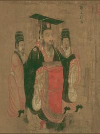 历代帝王图-蜀主刘备