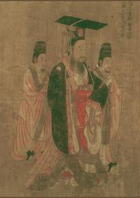 历代帝王图-隋文帝杨坚