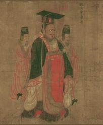 历代帝王图-魏文帝曹丕