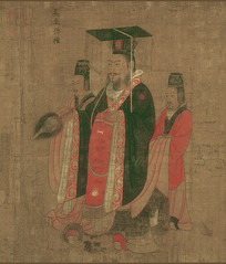 历代帝王图-吴主孙权