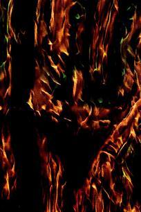 抽象火焰印花底纹背景