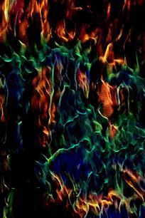 抽象交错火焰印花背景