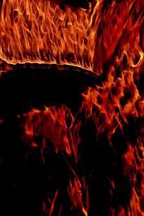 抽象酷炫火焰印花背景