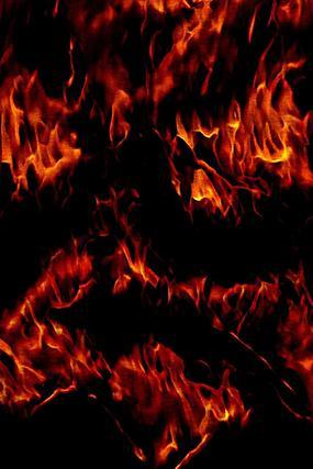 酷炫燃烧火焰底纹装饰画