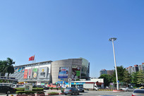 晴空万里的黄岐嘉洲广场
