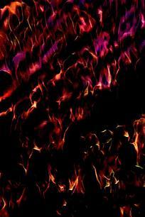 奢华绽放火焰底纹背景