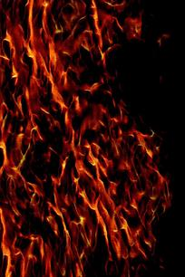 时尚潮流火焰背景图案